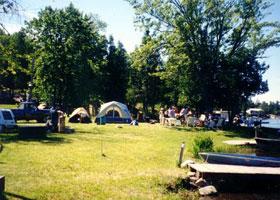 Camping Lake Nipissing