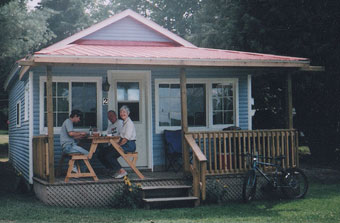 Family cottage rentals on Lake Nipissing
