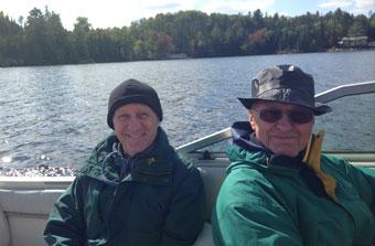 Two Happy Fishermen